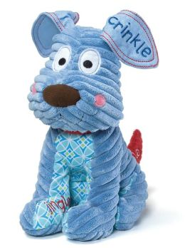 Blue Touch and Discover Puppy 10 inch plush doll
