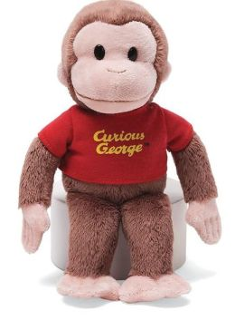 Curious George 8 inch