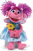 Product Image. Title: Sesame Street Abby with Flowers 11 inch Plush