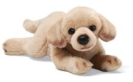 Yellow Lab 11 inch Plush Doll