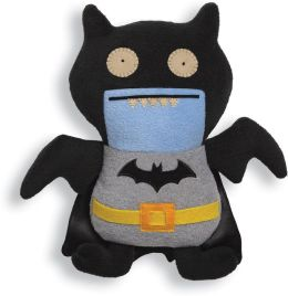 Ugly Doll DC Comics Ice bat Batman Black