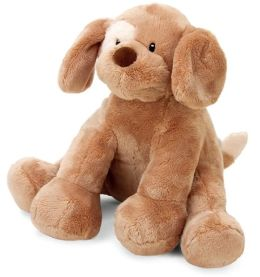 Spunky Motion Musical 8 inch plush dog