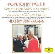 Giovanni Paolo II celebra nella Patriarcale Basilica Vaticana la Liturgia Eucaristica