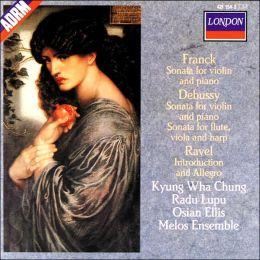 Franck, Debussy: Violin Sonatas, etc.