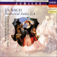 CD Cover Image. Title: Bach: Orchestral Suites Nos. 1 - 4, Artist: Academy of St. Martin-in-the-Fields