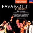 CD Cover Image. Title: Pavarotti & Friends, Artist: Luciano Pavarotti