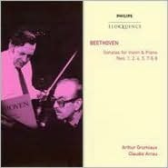 Beethoven: Sonatas for Violin & Piano Nos. 1, 2, 4, 5, 7, 8