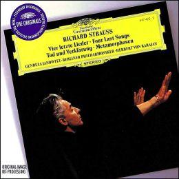 Strauss: Tod Und Verklarung, Metamorphosen, Vier Letzte Lieder