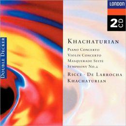 Khachaturian: Piano Concerto, Violin Concerto, Symphony No. 2, etc.