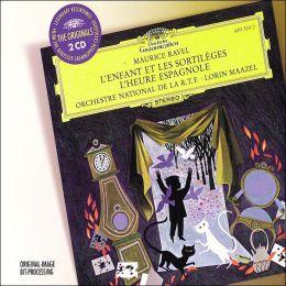 Ravel: L'enfant et les sortilèges, L'heure espagnole