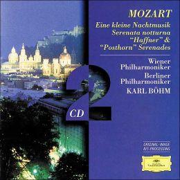 Mozart: Eine kleine Natchmusik, Serenata notturna, Posthorn & Haffner Serenades