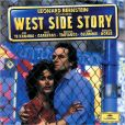 CD Cover Image. Title: Leonard Bernstein Conducts West Side Story, Artist: Leonard Bernstein