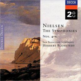 Nielsen: Symphonies 4-6