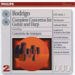 Rodrigo: Complete Concertos for Guitar and Harp