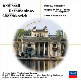 Addinsell, Rachmaninoff, and Shostakovich