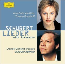 Schubert: Lieder With Orchestra