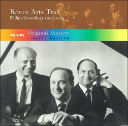 Original Masters: Beaux Arts Trio: Philips Recordings, 1967-1974 (Limited Edition)