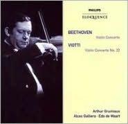 Beethoven: Violin Concerto; Viotti: Violin Concerto No. 22