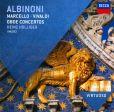 CD Cover Image. Title: Albinoni, Marcello, Vivaldi: Oboe Concertos, Artist: Heinz Holliger