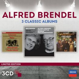 Alfred Brendel: 3 Classic Albums