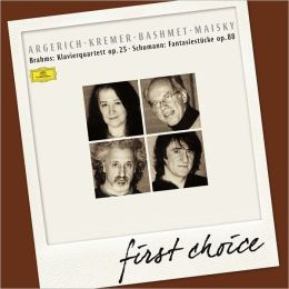 Brahms: Klavierquartett Op. 25; Schumann: Fantasiestcke, Op. 88