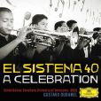 CD Cover Image. Title: El Sistema 40: A Celebration, Artist: Gustavo Dudamel