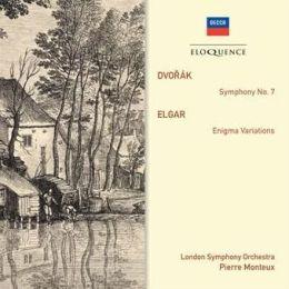 Dvorak: Symphony No. 7; Elgar: Enigma Variations