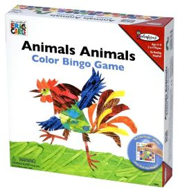 Eric Carle Animals Animals Color Bingo Game
