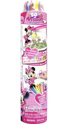 Minnie Mouse 50' Roll of Activities