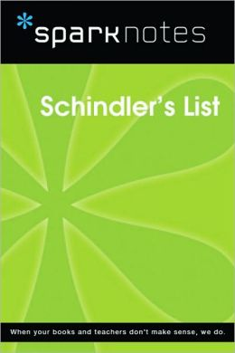 Schindler's List (SparkNotes Film Guide Series)