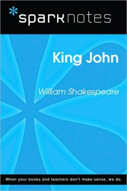 King John (SparkNotes Literature Guide Series)