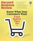 Book Cover Image. Title: The Harvard Business Review, Author: Harvard Business Publishing