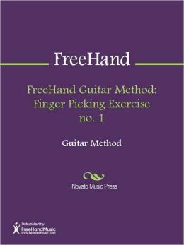 FreeHand Guitar Method: Finger Picking Exercise no. 1