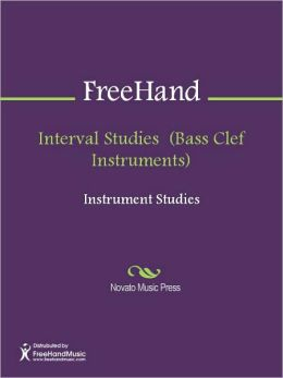 Interval Studies (Bass Clef Instruments)