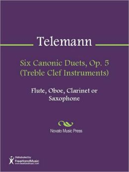Six Canonic Duets, Op. 5 (Treble Clef Instruments)