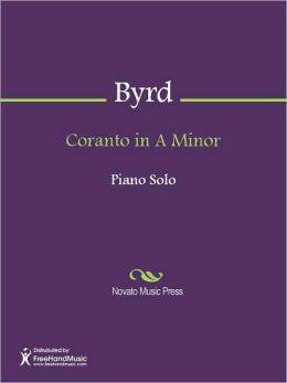 Coranto in A Minor