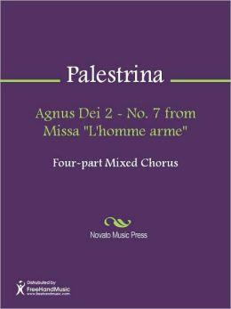 Agnus Dei 2 - No. 7 from Missa