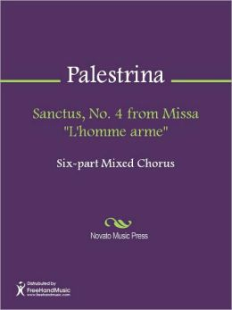 Sanctus, No. 4 from Missa