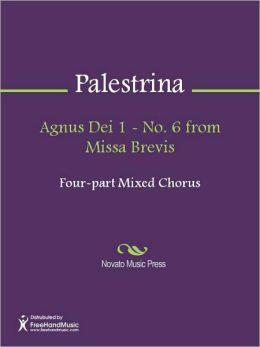 Agnus Dei 1 - No. 6 from Missa Brevis