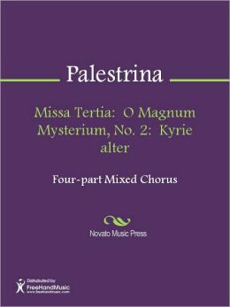 Missa Tertia: O Magnum Mysterium, No. 2: Kyrie alter