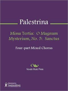Missa Tertia: O Magnum Mysterium, No. 5: Sanctus