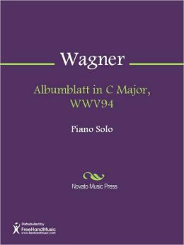 Albumblatt in C Major, WWV94