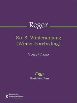 No. 3: Winterahnung (Winter-Foreboding)