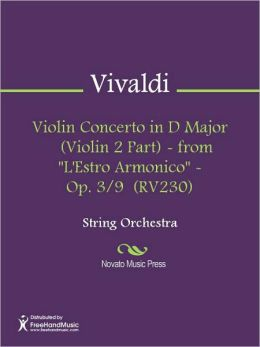Violin Concerto in D Major (Violin 2 Part) - from