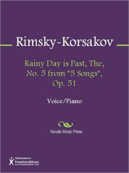 Rainy Day is Past, The, No. 5 from