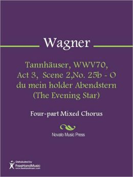 Tannhauser, WWV70, Act 3, Scene 2,No. 25b - O du mein holder Abendstern (The Evening Star)