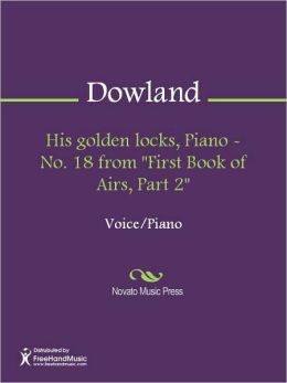 His golden locks, Piano - No. 18 from