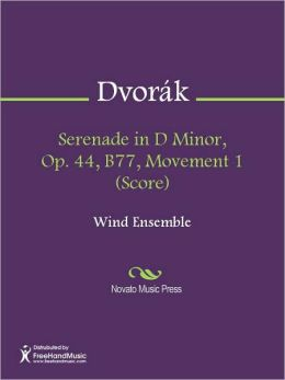 Serenade in D Minor, Op. 44, B77, Movement 1 (Score)