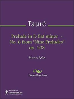 Prelude in E-flat minor - No. 6 from