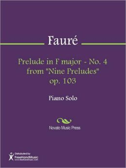 Prelude in F major - No. 4 from